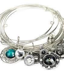 wire bracelet images Stacked memory wire bracelet joann jpg