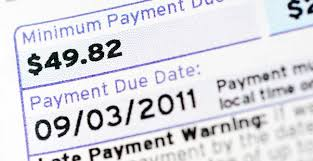 how credit card companies calculate your minimum payments