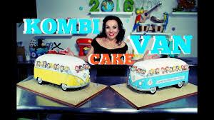 van volkswagen pink vw kombi van chocolate cake by verusca walker youtube