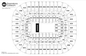 Concert Hall Floor Plan Seating Chart See Seating Charts Module Greensboro Coliseum