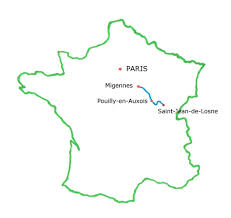 Where Is France On The Map Walking The Burgundy Canal I Love Walking In France