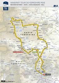 Map View Tour De Yorkshire 2018 Tour De Yorkshire 3 6 May 2018