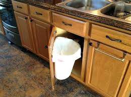 under sink trash pull out kitchen cabinet trash can new pull out trash can adds new life to