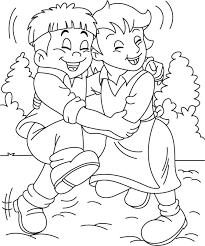 friends coloring pages fablesfromthefriends