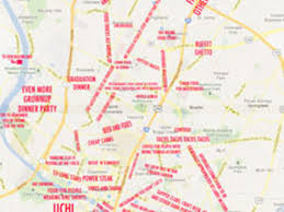 Austin Map by The Judgmental Austin Food And Drinks Map Eater Austin