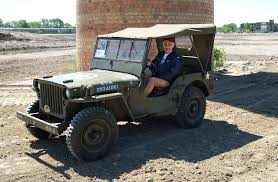 vintage jeep 70 years later jeep returns for spin at old factory home the blade