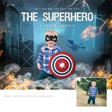 Superhero Backdrop Superhero Digital Backdrop