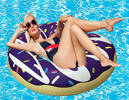 riffspheres gigantic donut pool float toys u0026 raft u2013 purple
