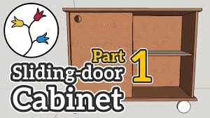 you can make a cabinet with sliding doors part 1 of 2 u2013 dyi