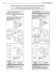 wiring diagrams for steam boilers with vent damper 16 galaxy