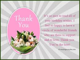 best 25 birthday wishes thank you ideas on pinterest thank you
