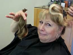 laurie u0027s cancer journey getting my hair cut off