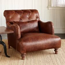 decor alcazar leather club chair with side table and rug for home