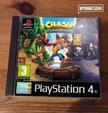 devil z crash this is what crash bandicoot ps4 u0027s case should look like push square