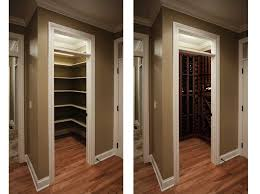 Closet Simple And Economical Solution Small Wine Rooms Wine Closets Wine Closet Conversions