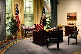 oval office decor history recreation of george h w bush s oval office picture of george