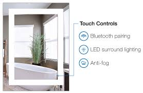 smart bathroom mirror sings and answers your phone calls vent