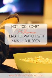 not too scary halloween films to watch with small children