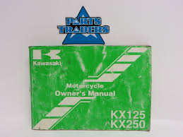 oem kawasaki owners manual kx250 kx 250 kx125 kx 125 1999 99 99920