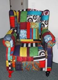Patchwork Upholstered Furniture - patchwork chair by uk sew patchwork upholstery