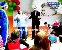 clown show for birthday party kids birthday in birmingham aeiou kids club birmingham