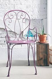 Metal Garden Chair Furniture Metal Garden Chair Folding Steel Outdoor Patio Deck