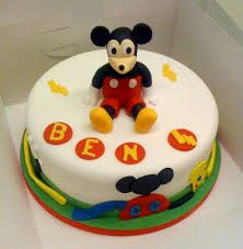 baby mickey mouse cake ideas 9017