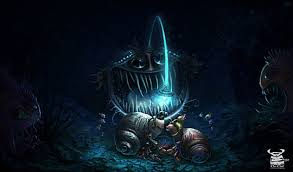 Finding Nemo Light Fish Museum Of Bad Ideas Art Of The Angler Fish