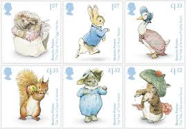 rabbit by beatrix potter beatrix potter sts in presentation pack 2016 royal mail