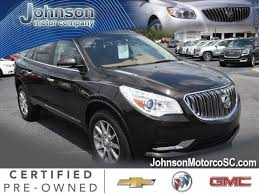 Buick Enclave 2013 Interior Enclave At Johnson Motor Company Of South Carolina Graniteville