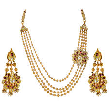 necklace gold jewelry images Bridal gold jewellery sets online buy gold earrings online png