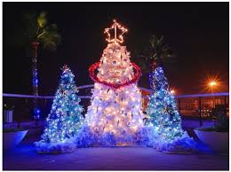 unique tree lights decor
