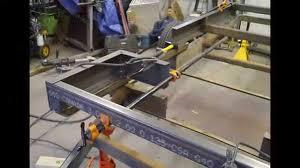 Camper Trailer Kitchen Designs Boler Scamp Trailer Designing U0026 Building The Frame Part 2