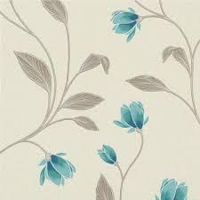 Magnolia Wallpaper Erismann Fashion Textures Floral Wallpaper Magnolia Teal 9662 18