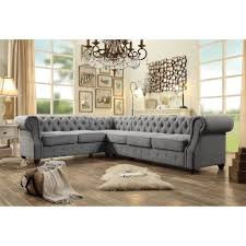 6 seat sectional sofa moser bay furniture olivia tufted 6 seat sectional sofa furniture