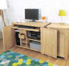 Hideaway Computer Desk Cabinet Charming Hideaway Computer Desk Images Best Inspiration Home