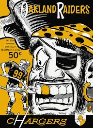 Chargers Raiders Meme - san diego chargers vs oakland raiders 1962 program painting by john farr