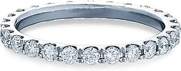 eternity wedding bands verragio brilliant cut diamond eternity wedding band eng 0349w