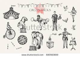 vintage circus illustration download free vector art stock