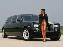 rolls royce phantom black tie edition by genaddi woman front