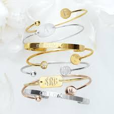 monogrammed bracelet ciela bracelet and graham