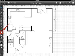 Floor Plan Editor Step 26 Adding The Room Names Touchdraw For Ipad Floorplan
