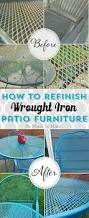 Vintage Iron Patio Furniture - 20 best wrought iron re do images on pinterest iron furniture