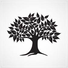 35 best trees images on tree clipart tree silhouette