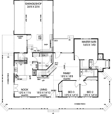 ranch style house plan 3 beds 3 baths 2048 sq ft plan 60 102