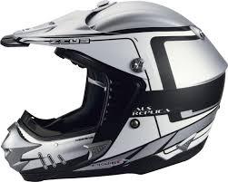 skull motocross helmet zeus motocross 907c helmet on wheels