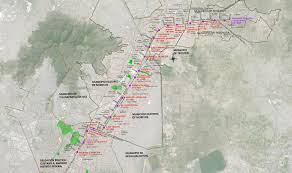 Teotihuacan Map Cost Benefit Analysis Of The Extension Of The Stc Metro Line 4