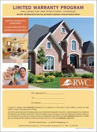 Home Warranty by Rwc Marketing Warranty Books Rwc Warranty