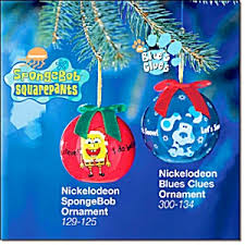 nickelodeon ornaments blues clues spongebob ornaments