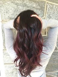 red balayage hairbylima jairassalon hair u0026 makeup pinterest